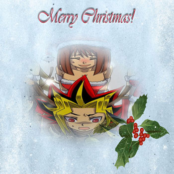 Yami x Anzu Silly Christmas Card 2010