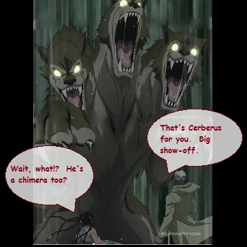 Cerberus is a Chimera?