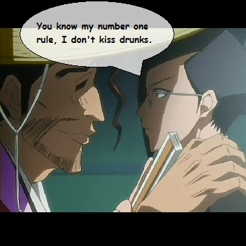 Drunk Shunsui Wants Kiss