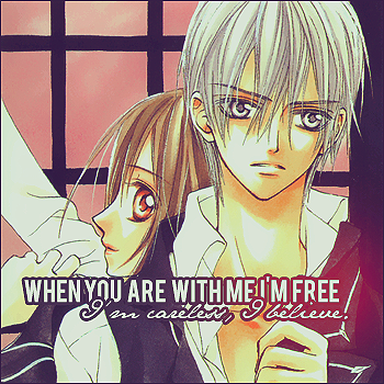 When you're with me.