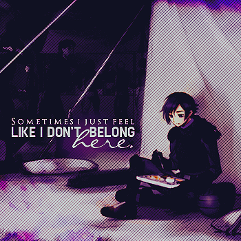 I don't belong.