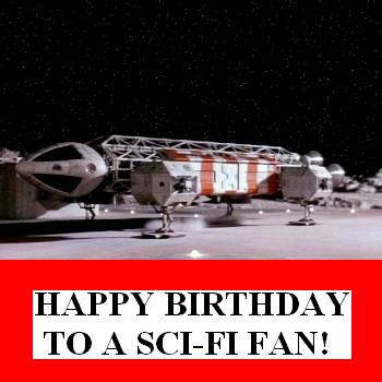 Space 1999 Birthday Card