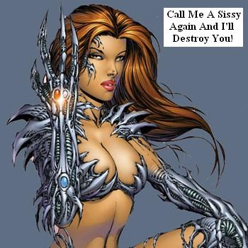 Witchblade's No Sissy
