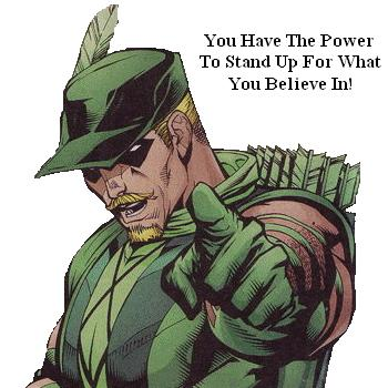 Green Arrow's Message