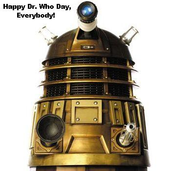 Happy Dr. Who Day