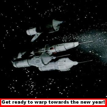 Warp Towards The New Year