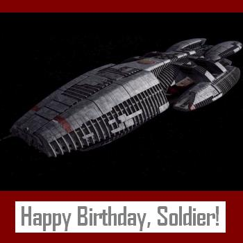 BSG Birthday Card