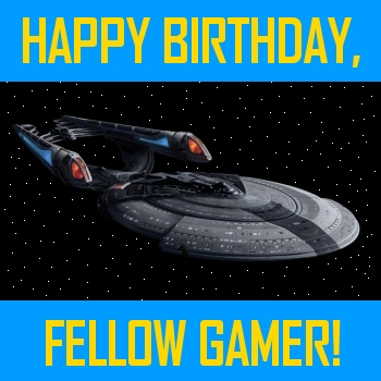 Happy Birthday, Fellow Gamer!