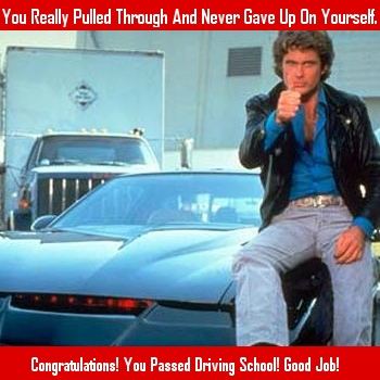 You Passed Driving School