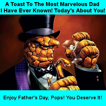 To the Most Marvelous Dad