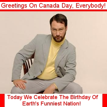 A B-Day For Earth's Funniest Nation