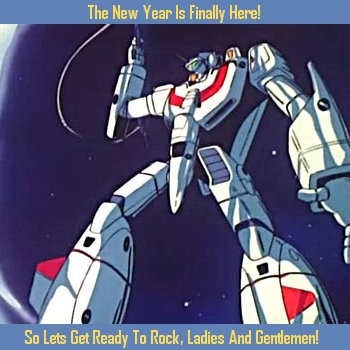 Robotech New Year Card