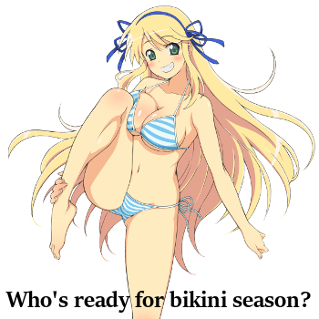 Who's Ready for Bikini Season?