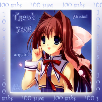 Thank you for 100 subs!