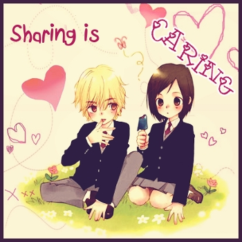 Sharing is...
