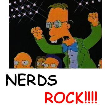 NERDS ROCK, SIMPSON STYLE