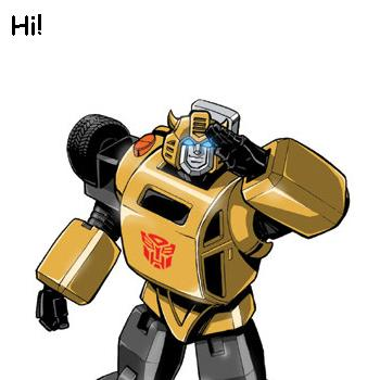 Autobot greetings