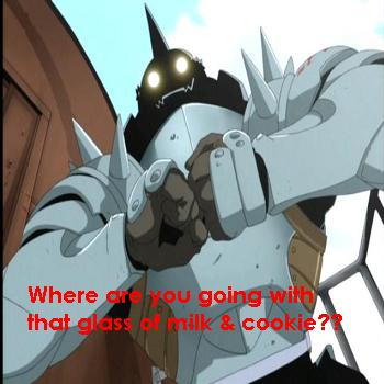 Alphonse mad! Alphonse smash!