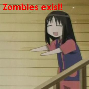 Zombies girl