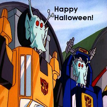 Autobots in costume
