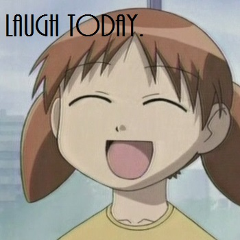 laugh = smile