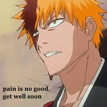 pain = not a rush