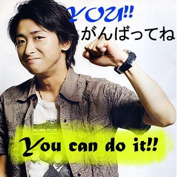 Ohno Wishes you Luck~