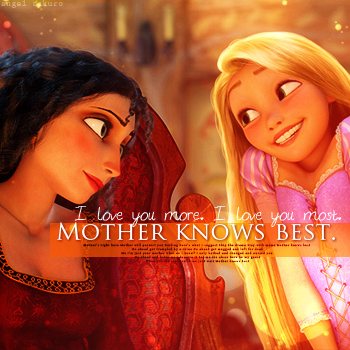 mother knows best.