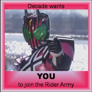 Decade wants YOU
