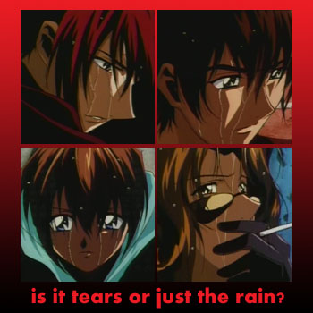 tears or rain