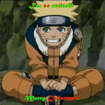 Merry Christmas from Naruto!