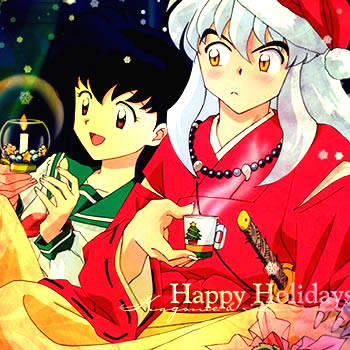Happy Hollidays {Inuyasha and Kagome}