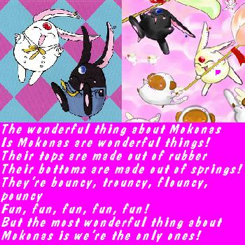 The wonderful thing about mokona