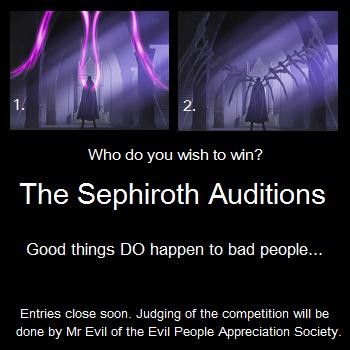 Sephiroth Auditions