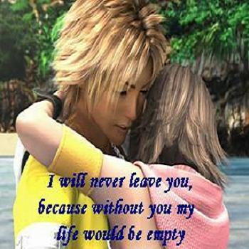 I will never leave you