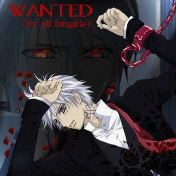 Zero: Wanted for his sexiness!