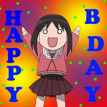 Happy birthday Sayura-chan!:D