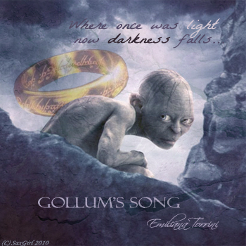 Gollum's song - album art