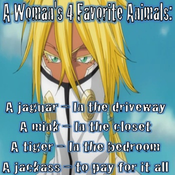 Women's Favorite 4 Animals