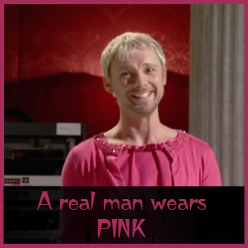 A real man wears