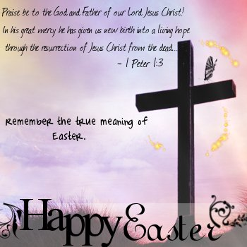 True Meaning of Easter by innocent heart