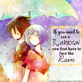My Rain equals My Rainbow.
