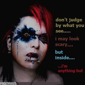 don't judge me on looks alone