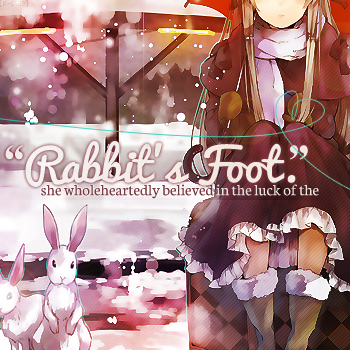 """Rabbit's Foot."""