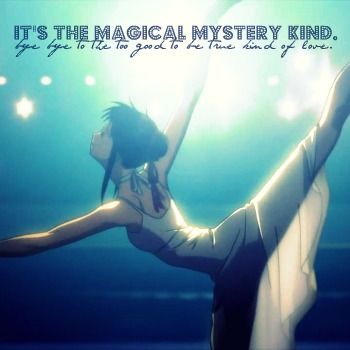 the magical mystery kind.