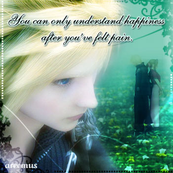 You can only understand.....
