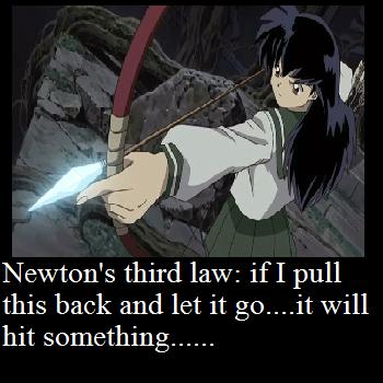 Newton's Laws of Anime