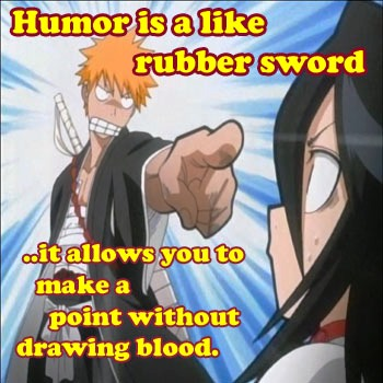 humor & swords