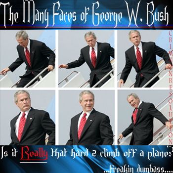 The_Many_Faces_of_George W. Bush