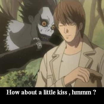 Shinigami kiss !